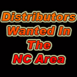 Distributors wanted in the NC area